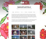 Nahuatlahtolli: A Beginner to Advanced Level Nahuatl Online Course