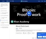 Bitcoin: Proof of work
