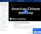 American-Chinese Debt Loop