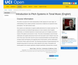 Introduction to Pitch Systems in Tonal Music (English)