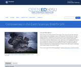 Controversies in the Earth Sciences
