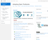 Adopting Open Textbooks