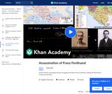 Assassination of Franz Ferdinand by Gavrilo Princip