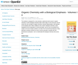Organic Chemistry With a Biological Emphasis Volumes I & II