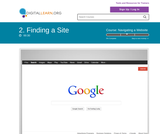 Finding a Site