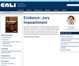 Evidence: Jury Impeachment