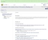 Introduction to the Austrian School of Economics