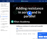 Adding up resistance in series and in parallel