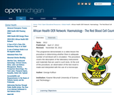 Haematology - The Red Blood Cell Count