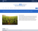 Alternative Fuels from Biomass Sources