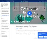 Community Ecology: Feel the Love