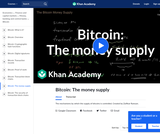 Bitcoin: The money supply