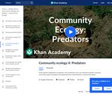 Community Ecology II: Predators