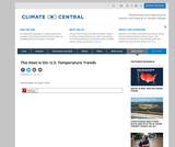 The Heat is On: US Temperature Trends