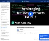 Arbitraging Futures Contract