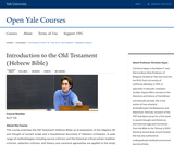 Introduction to the Old Testament (Hebrew Bible)
