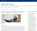 Global Problems of Population Growth