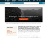 Building the First Transcontinental Railroad