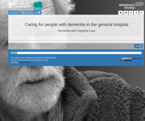HELM Open - Dementia and Cognitive Loss - Caring for people with dementia in the general hospital