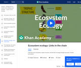 Ecosystem Ecology: Links in the Chain