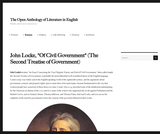"""Of Civil Government"""" (The Second Treatise of Government)"""
