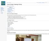 Green Design Challenge Activity