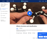 Alkene intro and stability