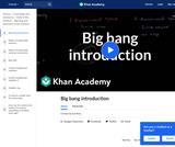 Big Bang Introduction