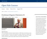 Freshman Organic Chemistry II