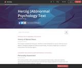 Herzig (Ab)normal Psychology Text