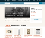 Exodusters: African American Migration to the Great Plains