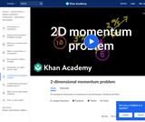 2-dimensional momentum problem
