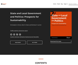 State and Local Government and Politics: Prospects for Sustainability (2nd Ed.)