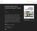 BC Reads: Adult Literacy Fundamental English - Reader 1