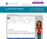 Files and Folders (Win 10)