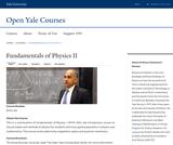 Fundamentals of Physics, II