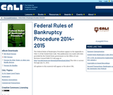 Federal Rules of Bankruptcy Procedure