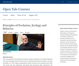 Principles of Evolution, Ecology and Behavior