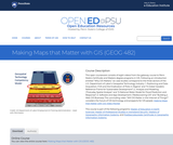 Making Maps that Matter with GIS