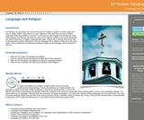 GVL - Language and Religion