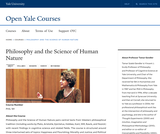 Philosophy and the Science of Human Nature