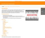 GVL - Audio Editing