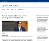 African American History: From Emancipation to the Present