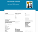 Communication for Professionals
