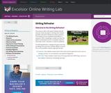 Writing Refresher