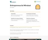 21st Century Skills: Entrepreneurial Mindset