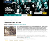 Great Writers Inspire: 18th Century Labouring-class Writing