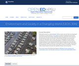 Geographic Perspectives on Sustainability and Human-Environment Systems