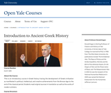Introduction to Ancient Greek History