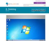 Deleting - (Win 7)